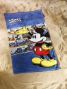 Strandtuch Mickey Mouse retro comic blue Badetuch Duschtuch